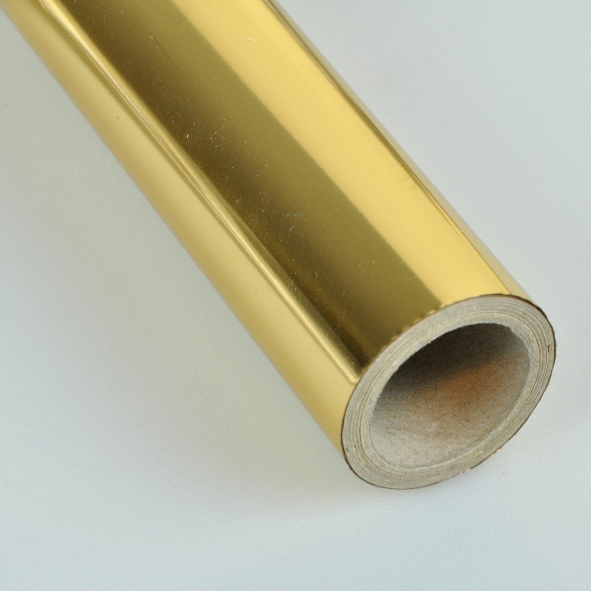 Gold T-Foil Roll of 30cm x 25m